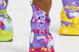 Ilustraciones para el envoltorio de chocolates