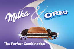 MILKA & OREO Communication Visual